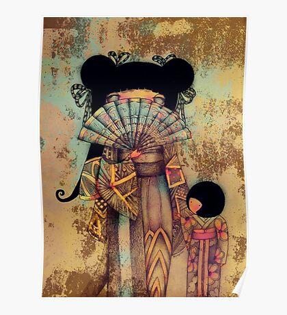mai and suki Poster