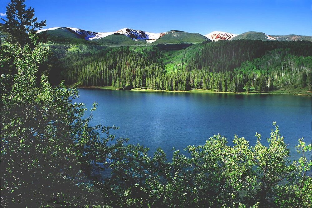 Sylvan Lake State Park by Steve  Taylor