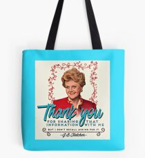 Jessica Fletcher Doesn't Need Your Input Tote Bag