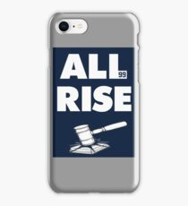ALL RISE Aaron Judge NY Yankees  iPhone Case/Skin