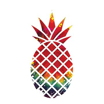 Hippy Pineapple by cletterle