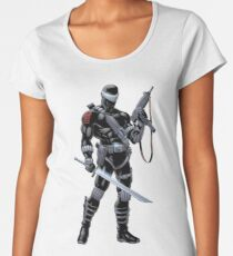 Snake Eyes Women's Premium T-Shirt