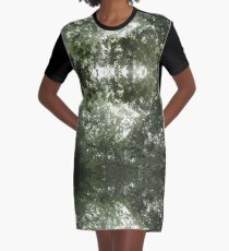 Nature's Canopy Graphic T-Shirt Dress