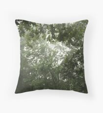 Nature's Canopy Throw Pillow