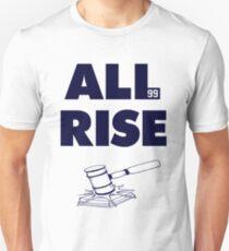 ALL RISE Aaron Judge NY Yankees Navy Print Unisex T-Shirt