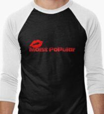 Moist Popular Men's Baseball ¾ T-Shirt