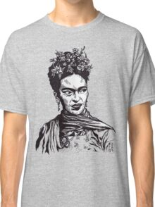 Tender Self Belief (portrait of Frida Kahlo) Classic T-Shirt
