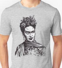 Tender Self Belief (portrait of Frida Kahlo) Unisex T-Shirt