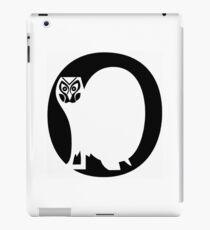 O alphabet iPad Case/Skin