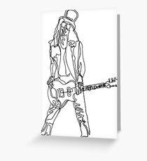 Slash - One Line Greeting Card
