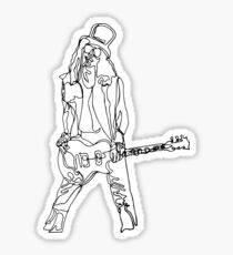 Slash - One Line Sticker