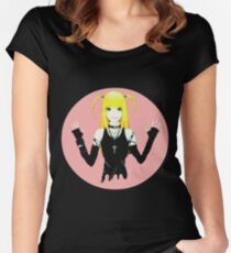 Death Note's Misa Amane Women's Fitted Scoop T-Shirt