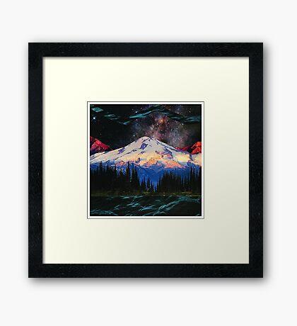 Blue Ridge Mountains Framed Print