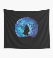 Itachi of the Silhouette Sharingan Wall Tapestry