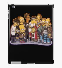 Simpsons Air Force-babe!  iPad Case/Skin