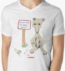 Do Not Feed the Bears! Men's V-Neck T-Shirt