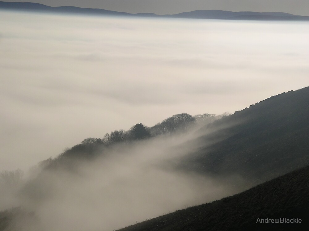 Misty Hills by AndrewBlackie