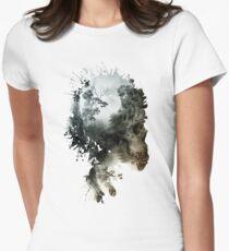 Skull - metamorphosis Women's Fitted T-Shirt