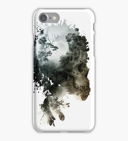 Skull - metamorphosis iPhone Case/Skin