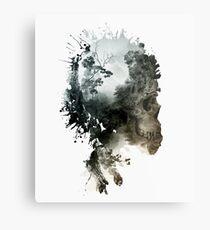 Skull - metamorphosis Metal Print