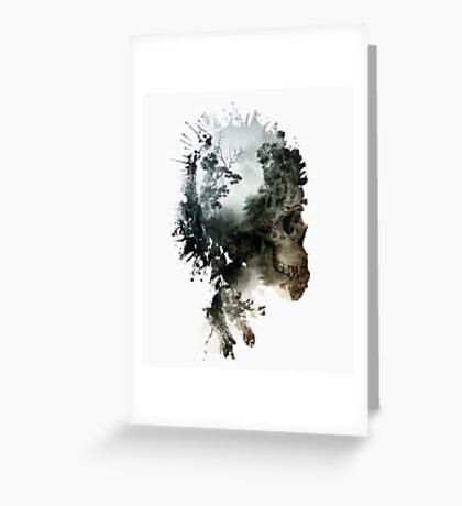 Skull - metamorphosis Greeting Card