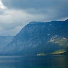 Moody Lake Bohinj by Ian Middleton