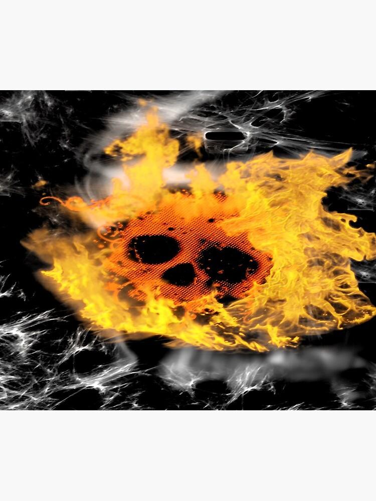 Burning Rider by coldfoxfusion