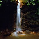 Colombian Waterfall 01  by Larry Costales