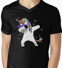 Dabbing Unicorn Shirt Dab Hip Hop Funny Magic T-Shirt