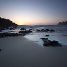 Nanjizal beach, Cornwall, England by Krzysztof Nowakowski