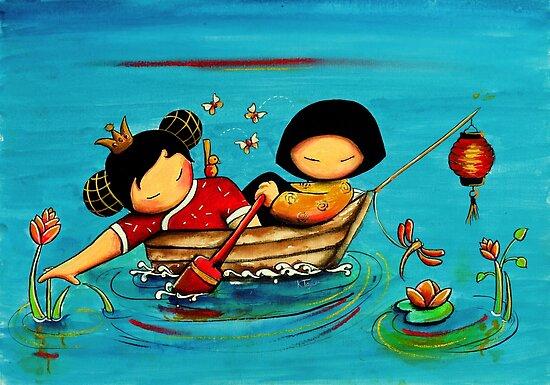 Lotus Love by Karin Taylor