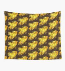 Painted Chocobo Wall Tapestry