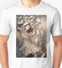 Alice in Wonderland by Arthur Rackham Unisex T-Shirt