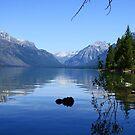 A view at Glacier National Park by Lynne Prestebak