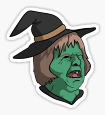 Witch Theresa May Sticker