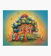 Gnome Babies Photographic Print