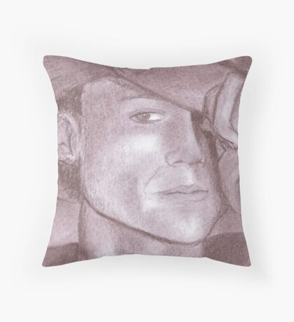 Heath Ledger Tribute Throw Pillow