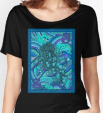 SCI - String Cheese Incident - Psychedelic Jellyfish Jelly Fish Ocean of My Brain To Much Tequila Women's Relaxed Fit T-Shirt