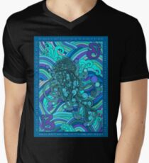 SCI - String Cheese Incident - Psychedelic Jellyfish Jelly Fish Ocean of My Brain To Much Tequila Men's V-Neck T-Shirt