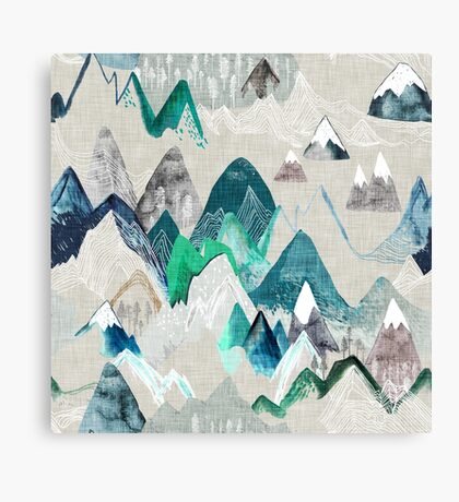 Call of the Mountains Canvas Print