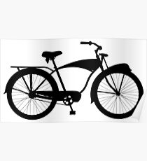 Cruiser bicycle Poster