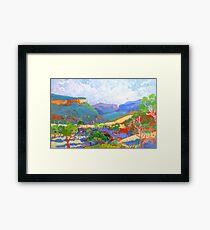 Bonalbo Country  Framed Print