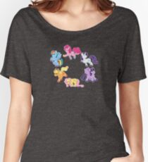 Squishie Mane 6 Women's Relaxed Fit T-Shirt