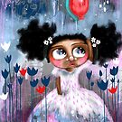 My Red Balloon Can Touch The Stars by Beatrice  Ajayi