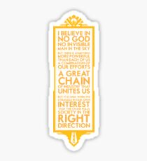 The Great Chain Sticker