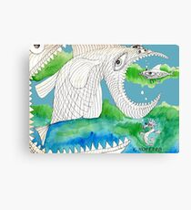 Big Fish Little Fish Canvas Print