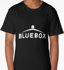 blue box Long T-Shirt