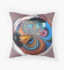 Multi-Colour Beads  Throw Pillow