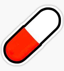 Red pill Sticker
