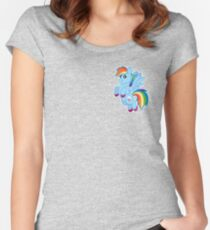 Squishie Dashie Women's Fitted Scoop T-Shirt